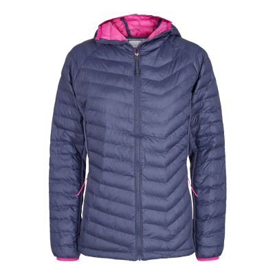 Columbia W Powder Lite Light Hooded Jacket - Dame Fritidsjakke