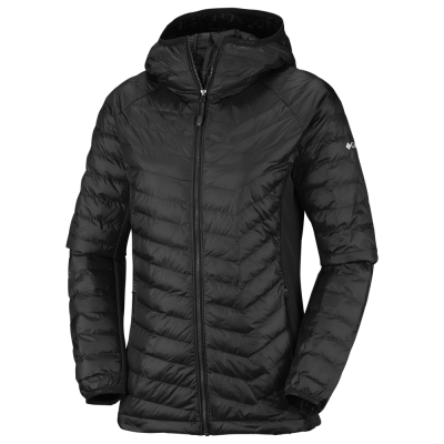 Columbia W Powder Pass Hooded Jacket - Dame Fritidsjakke