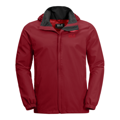 Jack Wolfskin Stormy Point Jacket - Funktionel Herre Jakke