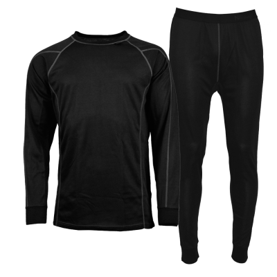 Nanok Active Set Black, Sr. - Herre skiundertøj