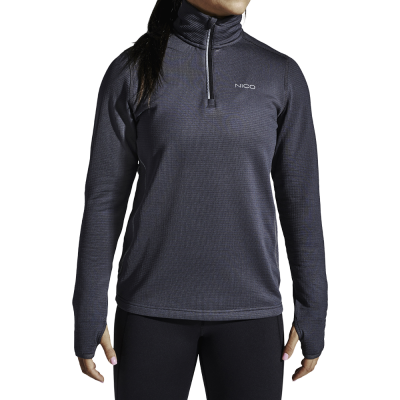 Nico Active L/S Termo 19, W. - Dame Fitness T-shirt