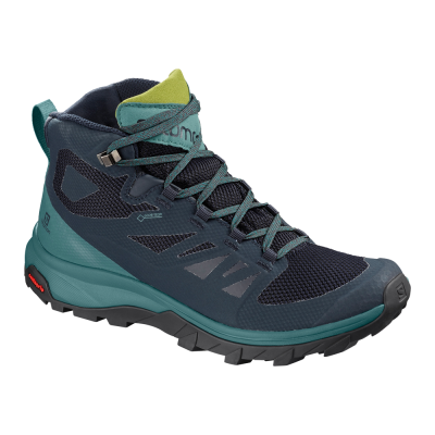 Salomon W Outline Mid GTX - Dame Outdoor Sko