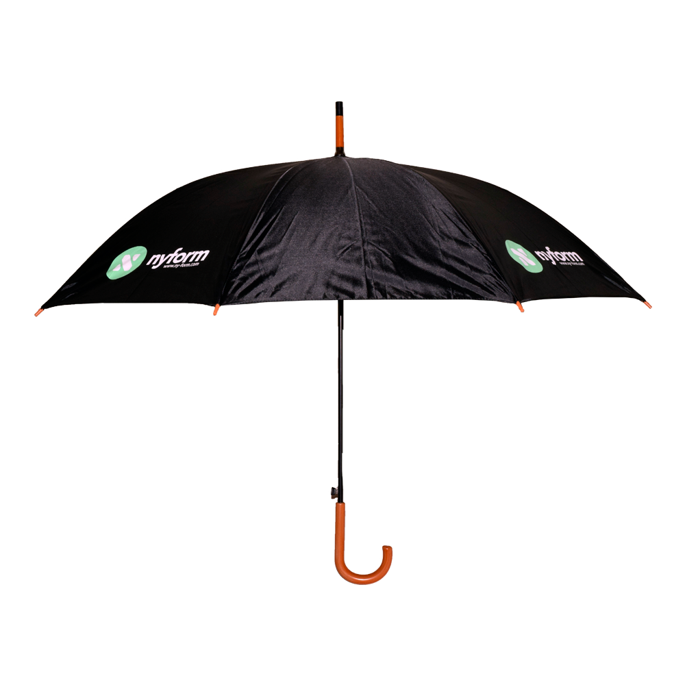 bc6d4c51f7bed CTM Kids Solid Color Stick Umbrella, Black WI-W101CHSOL-BLK Holiday Gifts