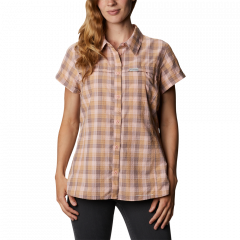 Columbia W SR Novelty Short Sleeve Shir - Dame Skjorte