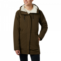 Columbia W South Canyon Pile Jacket - Dame Vinterjakke