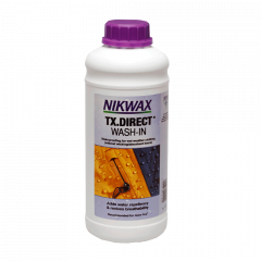 Nikwax TX.Direct Wash-In 1 L. - Imprægnering til overtøj