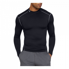 Under Armour Coldgear Mock Tee - Herre Sportsundertøj