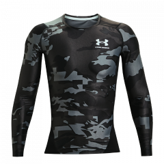 Under Armour HeatGear Isochill LS - Herre Fitness Undertøj