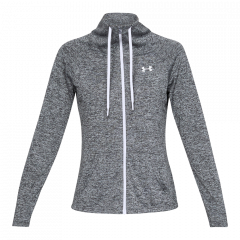 Under Armour W Tech FZ Hood - Dame Sweatshirt