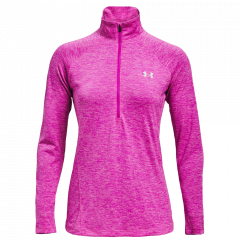 Under Armour W Tech HZ - Dame Sweatshirt