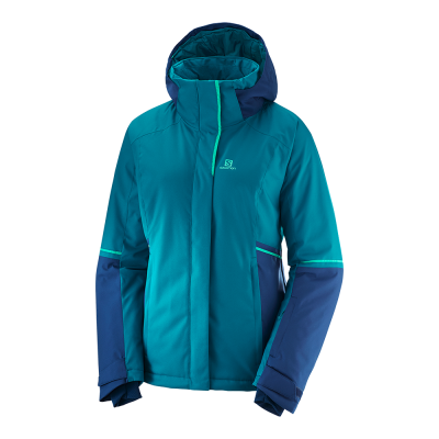 Salomon W Stormseason Jacket - Damen Ski- und Winterjacke