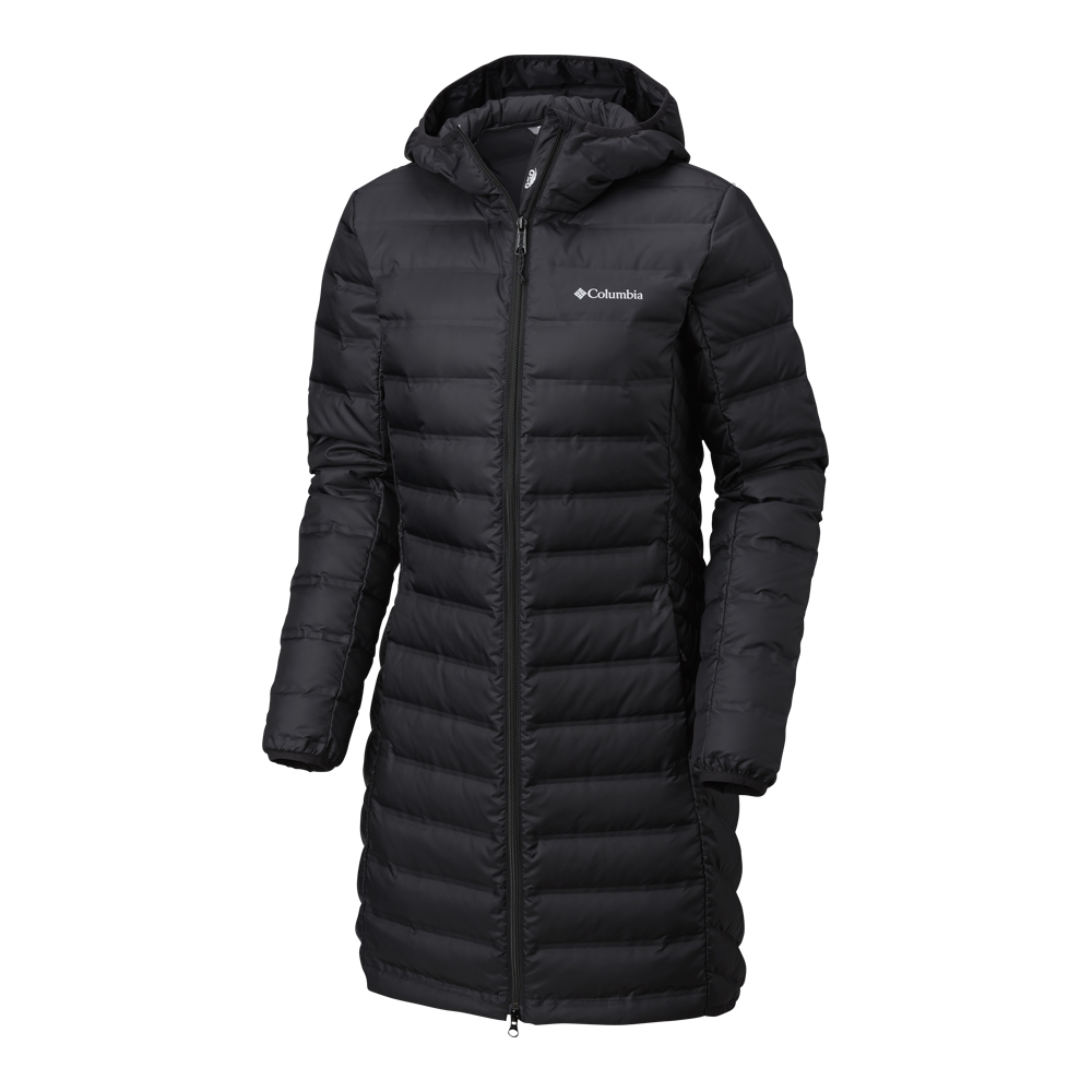W Lake 22 Long Down Hooded Jacket – Winterjacke von Columbia