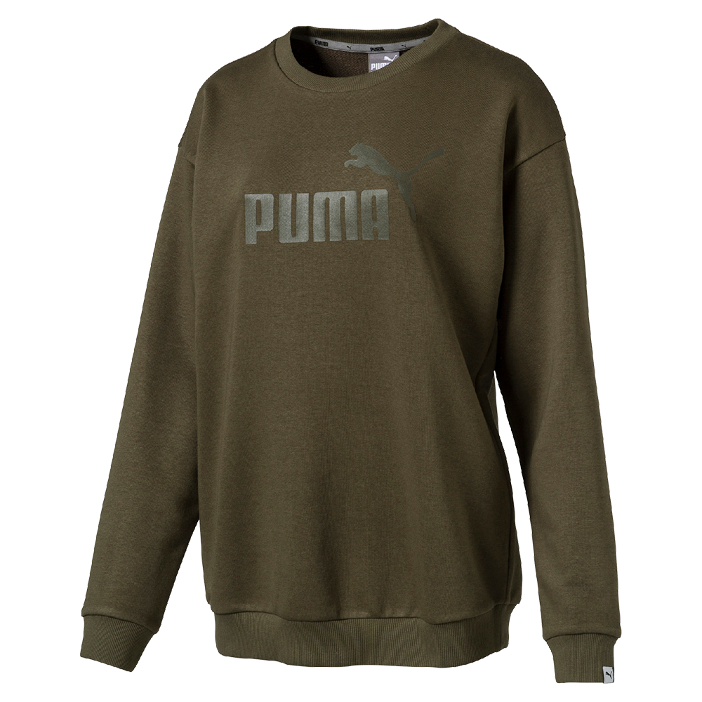 puma w ess no 1 crew sweat damen sweatshirt. Black Bedroom Furniture Sets. Home Design Ideas