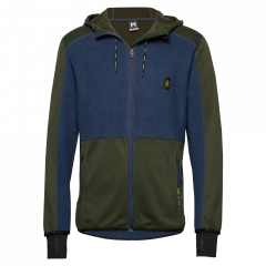 BULA Fleece Zip Hood - Herren Fleecejacke