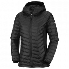 Columbia W Powder Pass Hooded Jacket - Damen Freizeitjacke
