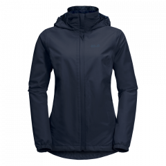 Jack Wolfskin W Stormy Point Jacket - Damen Regenjacke