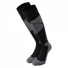 Nanok Ski Socks 2 Pack, Black - Erwachsenen Skisocken