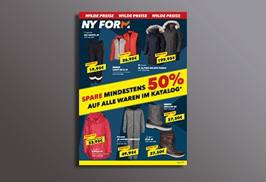 NY FORM Herbst Sale 2017